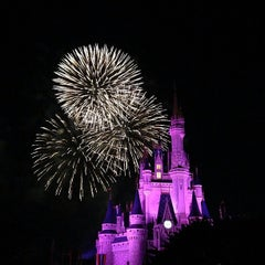 Photo taken at Cinderella Castle by Ian B. on 5/22/2013