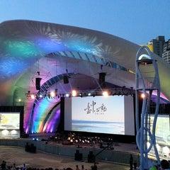 Photo taken at 圓滿戶外劇場 Fulfillment Amphitheatre by Julie C. on 8/23/2014