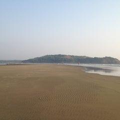 Photo taken at Morjim Beach by Proforg on 2/25/2013