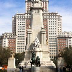 Photo taken at Plaza de España by Andrey Y. on 3/3/2013