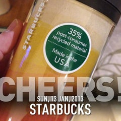 Photo taken at Starbucks by Stone I. on 1/13/2013