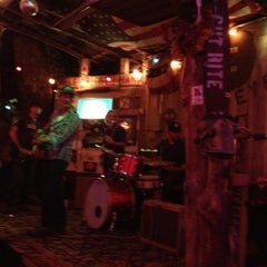 Photo taken at Mean Eyed Cat by Lauren Helfer P. on 12/2/2012