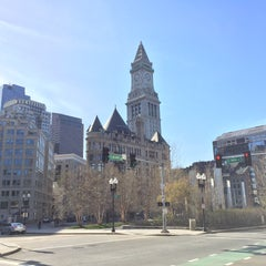 Photo taken at The Rose Kennedy Greenway by Kevin T. on 4/24/2016