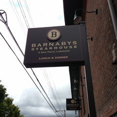 Photo taken at Barnaby's Steakhouse by Jo  G. on 9/29/2012