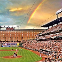 Photo taken at Oriole Park at Camden Yards by Todd C. on 6/29/2013