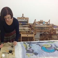 Photo taken at Textile Arts Center - BK by AFAR Media on 8/12/2014