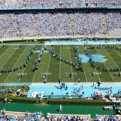 Photo taken at Kenan Memorial Stadium by Patrick P. on 9/7/2013