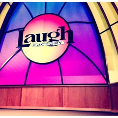 Photo taken at Laugh Factory by Charlie S. on 11/28/2012