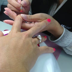 Photo taken at Nails L'mour by RACHEL YoungW L. on 2/21/2013