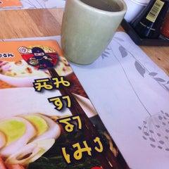 Photo taken at Ninja Ramen (นินจา ราเมง) by The P. on 11/13/2012