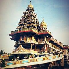 Photo taken at Graha St. Maria Annai Velangkanni by Rika R. on 12/29/2012