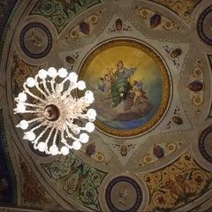 Photo taken at Teatro Giuseppe Manini by Mauro M. on 1/1/2015