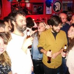 Photo taken at LA HUELGA en Lavapiés by Paula R. on 2/15/2015