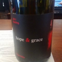 Photo taken at hope & grace Wines by Stacey S. on 6/22/2014