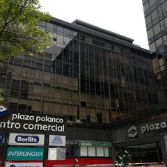 Photo taken at Plaza Polanco by José Manuel P. on 7/26/2013