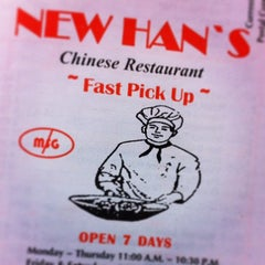 Photo taken at New Han's Chinese Restaurant by Michael M. on 12/31/2013