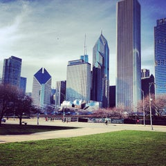 Photo taken at Grant Park by Anna P. on 4/14/2013