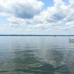 Photo taken at Cayuga Lake by Jackie L. on 7/18/2014