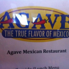 Photo taken at Agave by Julie A. on 3/19/2013