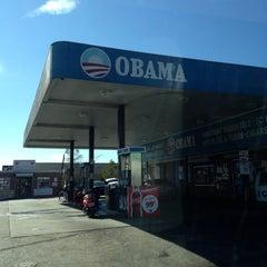 Photo taken at Obama Gas Station by Sara O. on 2/5/2014