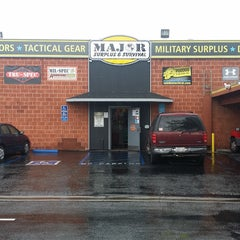 Photo taken at Major Surplus and Survival Discount Warehouse by Ernest S. on 12/16/2014