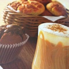 Photo taken at Fran's Café by Viviane M. on 4/27/2012