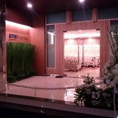 Photo taken at Bank BTN by agis andi fafa on 12/20/2012