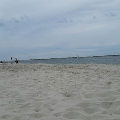 Photo taken at Civic Beach (Point Lookout) by Keith K. on 7/19/2014