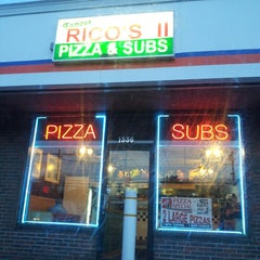 Photo taken at Rico's Pizza and Sub Shop by Pat W. on 3/14/2013