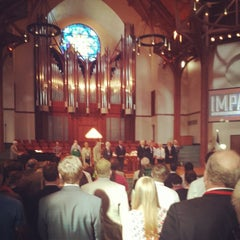 Photo taken at First United Methodist Church Richardson by Christopher E. on 6/3/2014