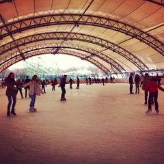 Photo taken at Eissporthalle Frankfurt by Pablo Q. on 3/23/2013