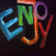 Photo taken at Enjoy Bar by Andy C. on 3/10/2013