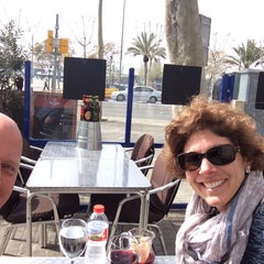 Photo taken at Hotel 54 Barceloneta *** by Mark R. on 3/23/2015