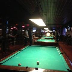 Photo taken at Amsterdam Billiards & Bar by Yiyuan H. on 3/2/2013