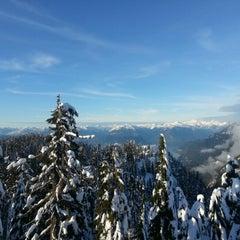 Photo taken at Cypress Mountain Lookout by Karim A. on 1/13/2013