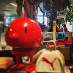 Photo taken at Zappos HQ by Jordan R. on 8/13/2013
