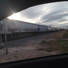 Photo taken at Freaking RR Crossing! by Tina P. on 11/20/2013
