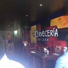 Photo taken at La Cervecería de León by Fredy P. on 4/14/2013