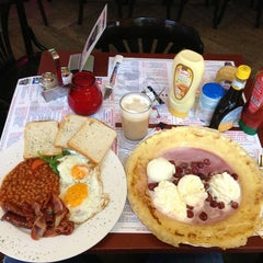 Photo taken at The Pancake Corner by Paul B. on 12/21/2012