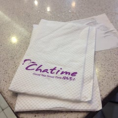 Photo taken at Chatime by Ainna Shella B. on 5/25/2015