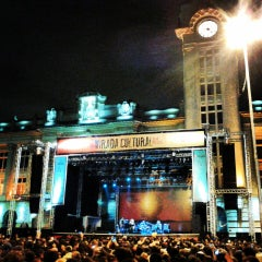 Photo taken at Praça Júlio Prestes by João Pedro C. on 5/19/2013