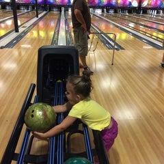 Photo taken at Buffaloe Lanes Mebane Family Bowling Center by Nanci L. on 7/14/2014