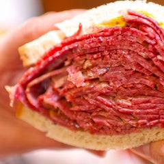 Photo taken at Ben's Best Kosher Delicatessen by Ben's Best Kosher Delicatessen on 7/9/2014
