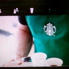 Photo taken at Starbucks by Stacey B. on 3/21/2012