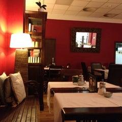 Photo taken at Cafe Pavlína by Yulia P. on 3/15/2012