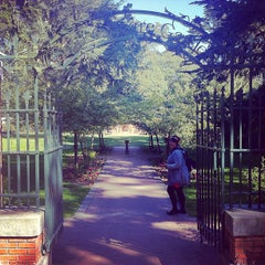 Photo taken at Shakespeare Garden by Brenden D. on 4/20/2012