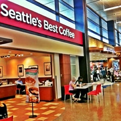 Photo taken at Seattle's Best Coffee - SeaTac Airport Main Terminal by Do N. on 8/23/2012