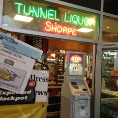 Photo taken at Tunnel Liquor Shoppe by Vikki W. on 3/31/2012