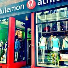 Photo taken at lululemon athletica by Carolyn C. on 9/11/2012