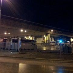 Photo taken at Автобуска станица Скопје / Skopje Bus Station by Daniel J. on 4/8/2012